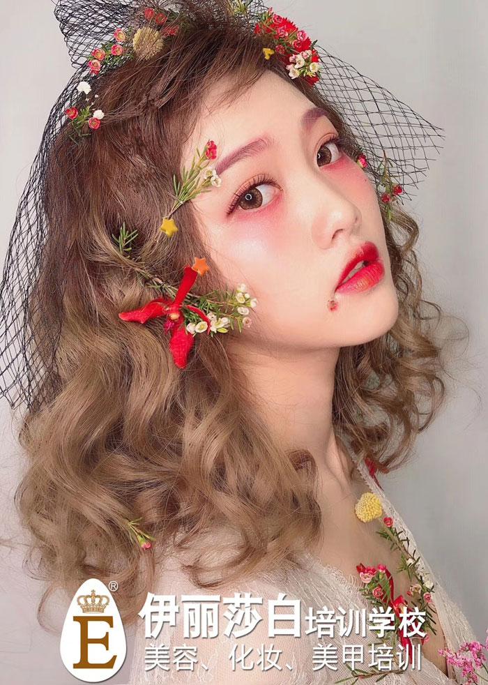 森系萝莉风系列化妆造型作品